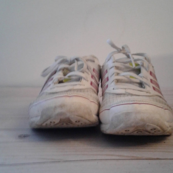 White Adidas shoes for women